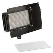 IKAN MYLO MB4-TK MINI BI-COLOR 3200K-5600K PORTABLE FIELD LED LIGHT TRAVEL KIT CON  BARN DOORS